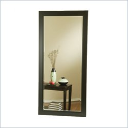 Coaster Contemporary Rectangular Black Mirror