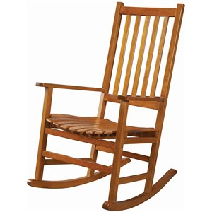 Coaster Casual Traditional Wood Rocker