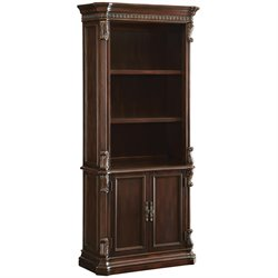 Coaster Union Hill Bookcase in Rich Brown Finish