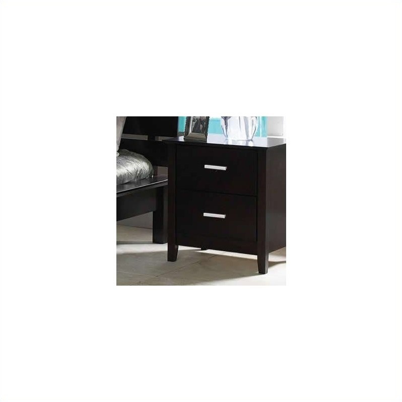 Cappuccino Brown Nightstand