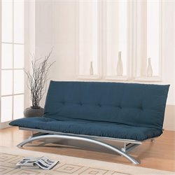 Coaster Metal Futon Frame in Silver