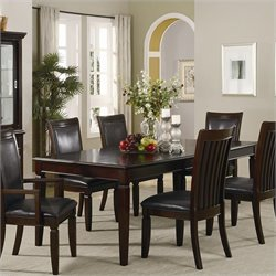 Coaster Ramona Formal Rectangular Dining Table in Walnut Finish