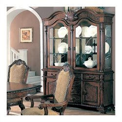 Coaster Saint Charles China Cabinet in Deep Brown