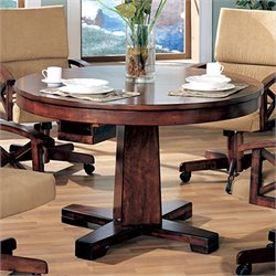 Coaster Marietta 3-in-1 Game Table in Dark Oak
