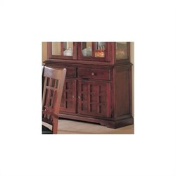 Coaster Newhouse Buffet China Cabinet in Cherry Finish