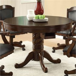 Coaster Turk 3-in-1 Round Poker Table