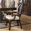 ADD TO YOUR SET: Coaster Tabitha Traditional Dining Arm Chair in Cherry Finish
