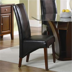 Coaster Rodeo Upholstered Vinyl Dining Chair