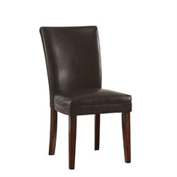 Coaster Telegraph Soho Parson  Dining Chair in Brown