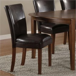 Coaster Telegraph Soho Parson Side Chair in Brown