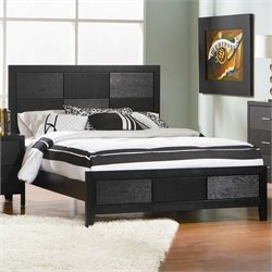 Coaster Grove Panel Bed in Black Finish - California King