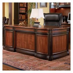 Coaster Pergola Executive Desk with Felt Lined Drawers