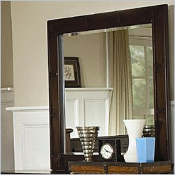 Coaster Harbor Classic Square Dresser Mirror in Cappuccino Finish