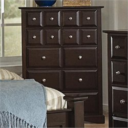 Coaster Harbor Classic 7 Drawer Chest in Cappuccino Finish