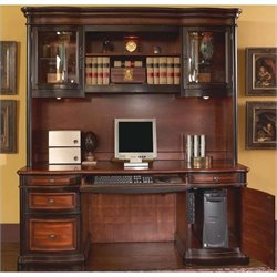 Coaster Pergola Traditional Kneehole Credenza and Hutch Set