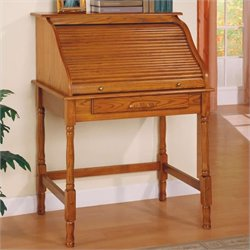 Coaster Palmetto Small Roll Top Secretary Desk