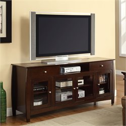 Coaster CONNECT-IT TV Console in Walnut