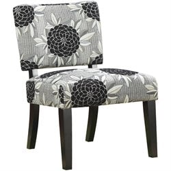 Coaster Chair in Big Flower Motif