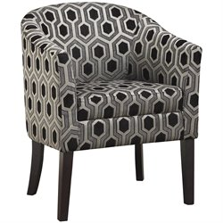 Coaster Club Chair in Chenille