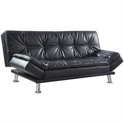 Coaster Contemporary Styled Sofa in Black