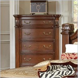 Coaster DuBarry Chest in Rich Brown Finish