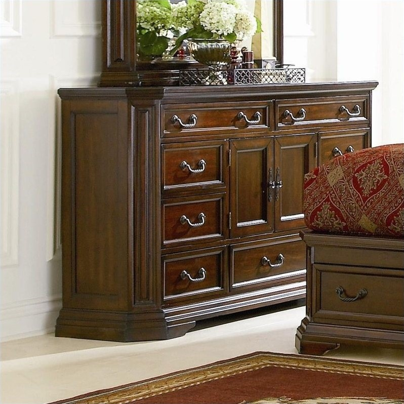 Coaster Foxhill Dresser in Deep Brown Finish