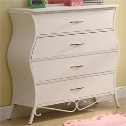 Coaster Bella Dresser in White
