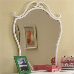 Coaster Bella Mirror in White