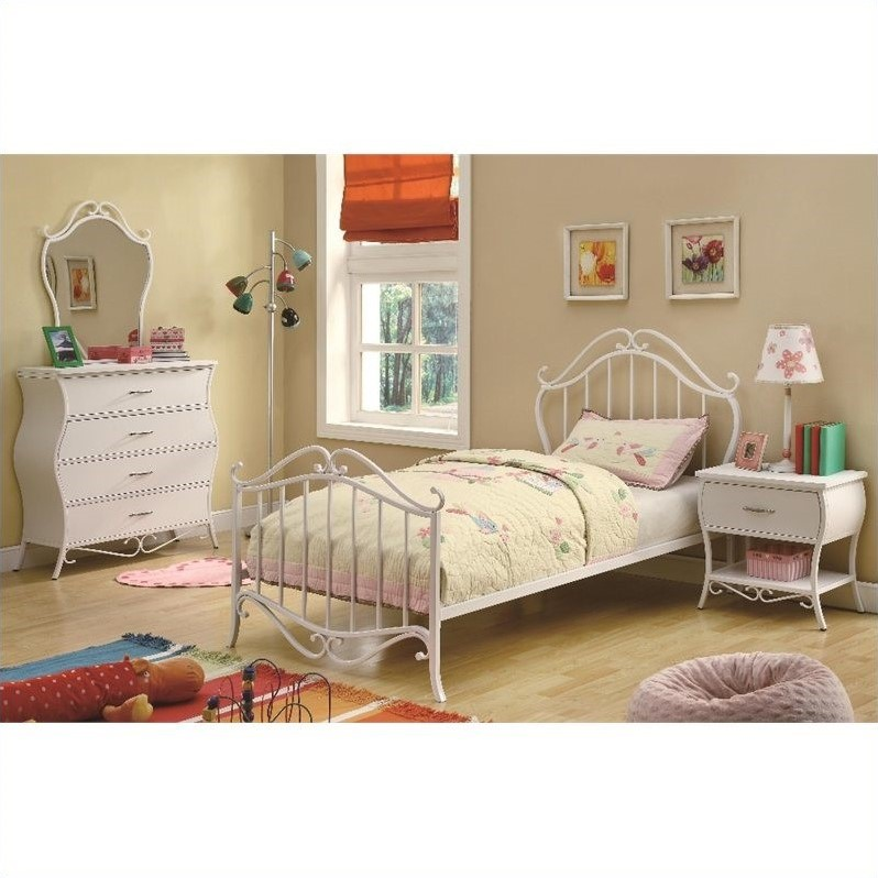 Bella 4 Piece Bedroom In White