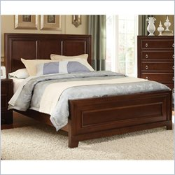 Coaster Nortin Panel Wood Bed in Dark Cherry - California King