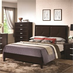 Coaster Andreas Padded Headboard Bed