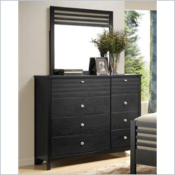 Coaster Richmond Dresser and Mirror Set in Black