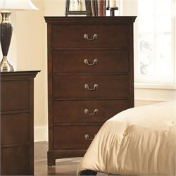 Coaster Tatiana Five Drawer Chest in Espresso