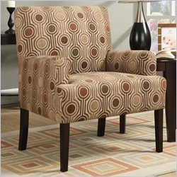 Coaster Casual Accent Chair with Casual Pattern
