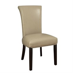 Coaster Newbridge Upholstered  Dining Chair in Taupe