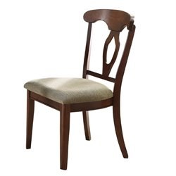 Coaster Liam Splat Back Dining Chair in Cherry