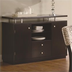Coaster Libby 2 Door Dining Server Buffet with Floating Top