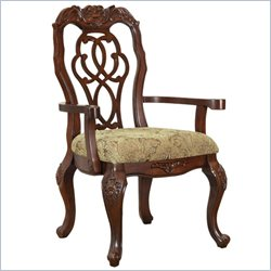Coaster Marisol Dining Scroll Ribbon Back Arm Chair