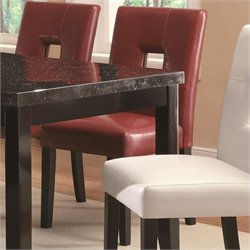 Coaster Newbridge Dining Chair in Red