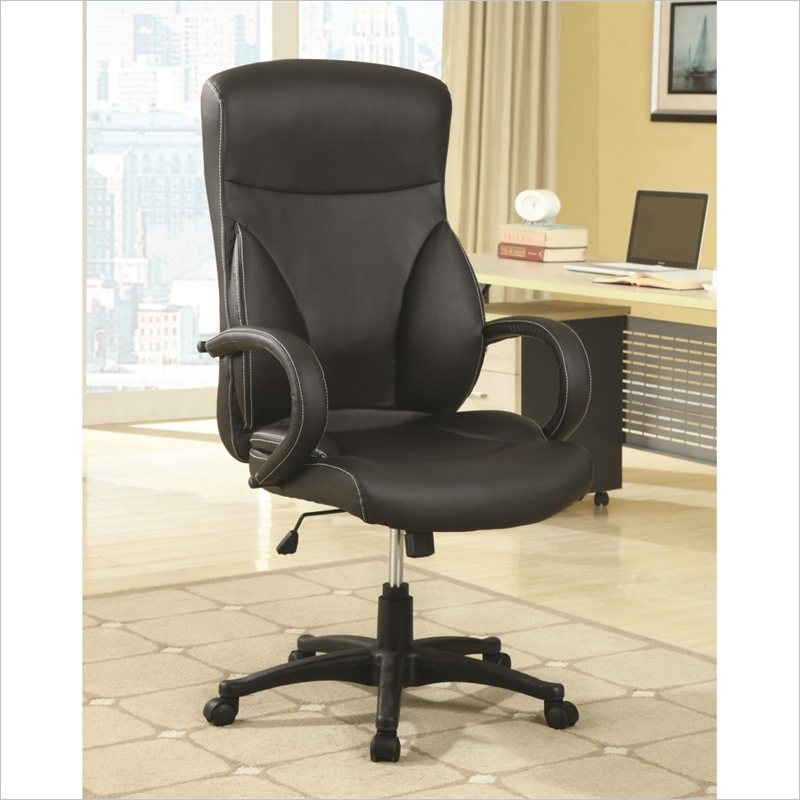 High Back Executive Office Chair in Black