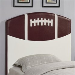 Coaster Youth Headboards Twin Sports Football Headboard in Brown