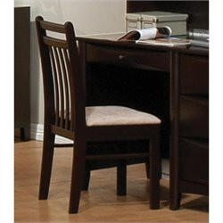 Coaster Phoenix Youth Desk Office Chair in Cappuccino