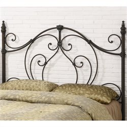 Coaster Full and Queen Spindle Headboard in Black and Bronze