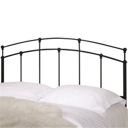 Coaster Full and Queen Metal Headboard in Black