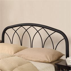 Coaster Full and Queen Modern Metal Headboard in Black