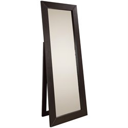Coaster Floor Mirror in Black