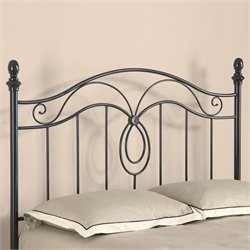 Coaster Queen Size Spindle Headboard in Gunmetal