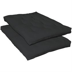 Coaster Premium Futon Pad in Black