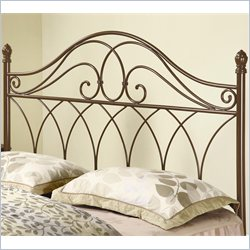 Coaster Full and Queen Spindle Headboard in Brown