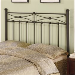 Coaster Full and Queen Metal Headboard in Rustic